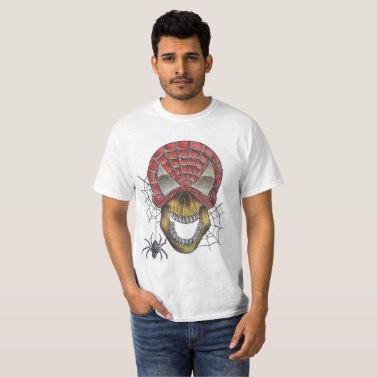 Camiseta spiderskull
