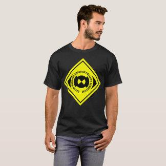 Camiseta Spindizzy - aviso do perigo da confiança do tório