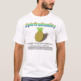 Camiseta Spirfruituality: O abacaxi da rectidão