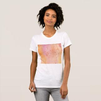 Camiseta Splat marmoreado por do sol