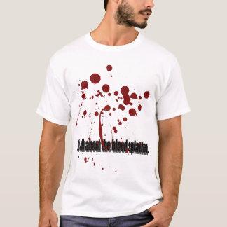 Camiseta Splatter 01 do sangue