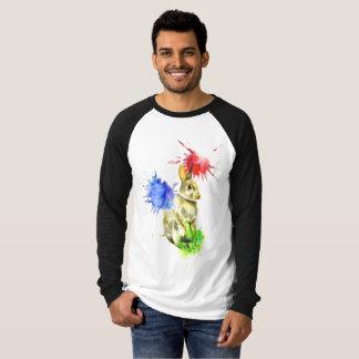 Camiseta Splatter do coelho