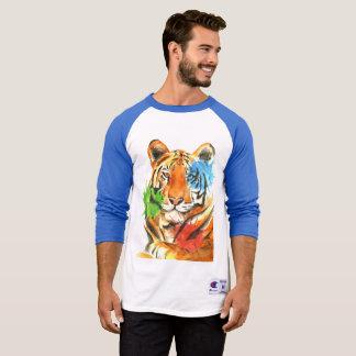 Camiseta Splatter do tigre