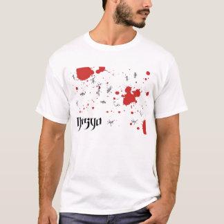 Camiseta Splatter farpado de Ibasyo