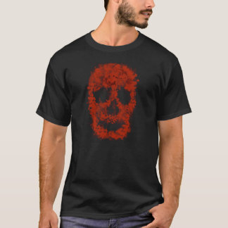 Camiseta Splatter Skull (conversas blood)