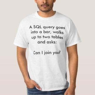 Camiseta SQL Joke