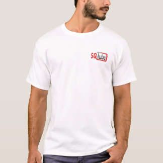 Camiseta SQTube 2008 - Homens brancos