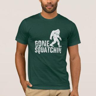 Camiseta Squatchin ido - branco afligido