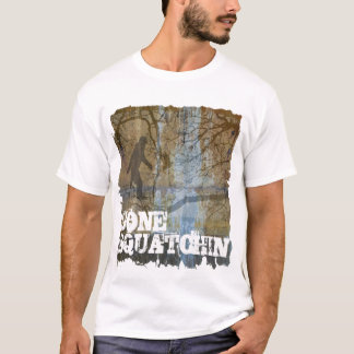 Camiseta Squatchin ido com bigfoot