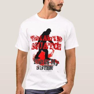 Camiseta Squatchin ido engraçado personalizado