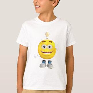 Camiseta Sr. Brainy que o Emoji esse ama pensar