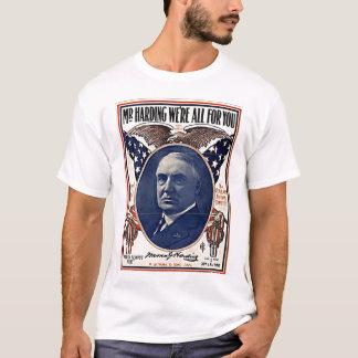 Camiseta Sr. Harding Poster