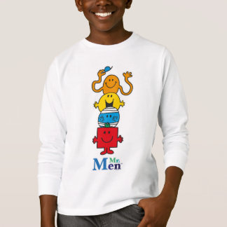Camiseta Sr. Homem Standing Alto do Sr. Homem |