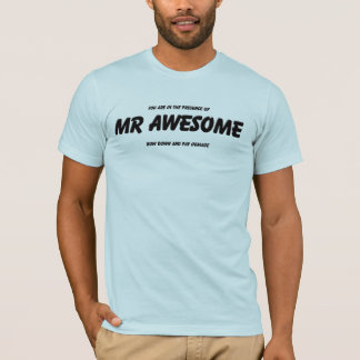 Camiseta Sr. Impressionante