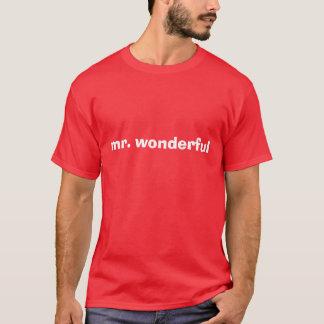 Camiseta Sr. maravilhoso
