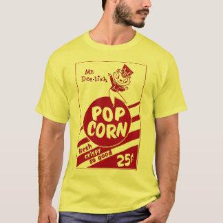 Camiseta Sr. retro Dee-lish da pipoca do kitsch do vintage