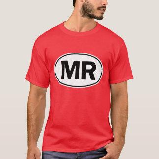 Camiseta SR. sinal oval da identidade