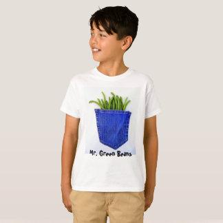 Camiseta Sr. t-shirt dos feijões verdes
