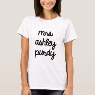 Camiseta Sra. Ashley Purdy