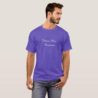 Camiseta Sra. futura Hunnam