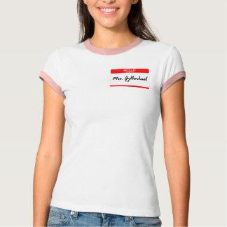 Camiseta Sra. Gyllenhaal