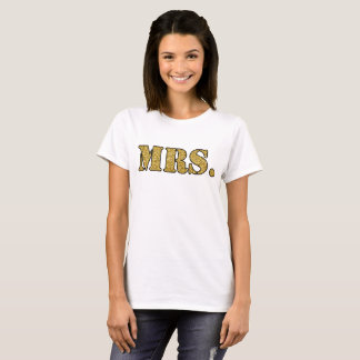 Camiseta Sra. OURO do t-shirt das mulheres