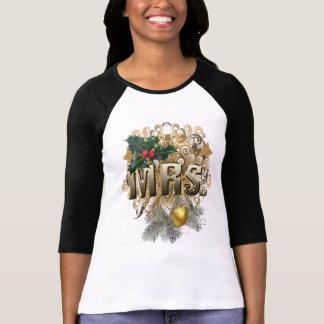 Camiseta Sra. Primeiro Natal