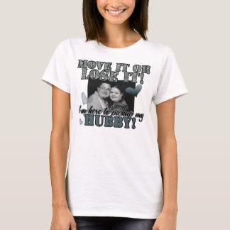 Camiseta Sra. queimaduras