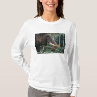 Camiseta Sri Lanka, elefante alimenta no elefante 2 de