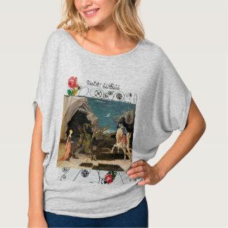 Camiseta St George, dragão e princesa