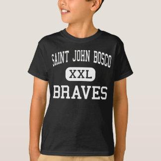 Camiseta St John Bosco - Braves - alto - Bellflower