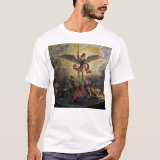 Camiseta St Michael derrota o diabo