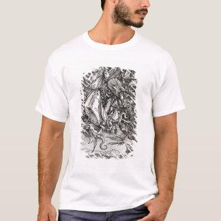 Camiseta St Michael e o dragão, de um latino
