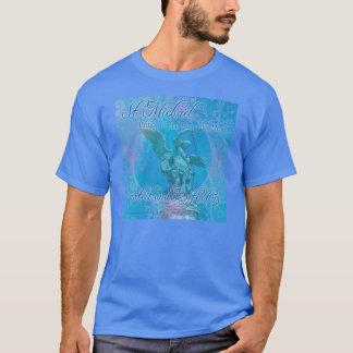 Camiseta St Michael protege-nos & defende- t-shirt