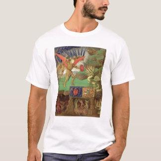 Camiseta St Michael que massacra o dragão