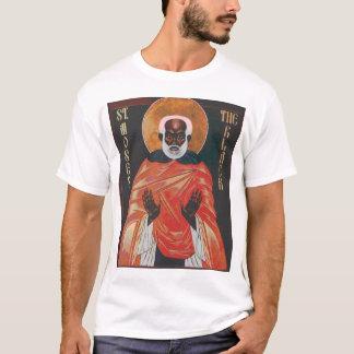 Camiseta St. Moses do ícone o preto