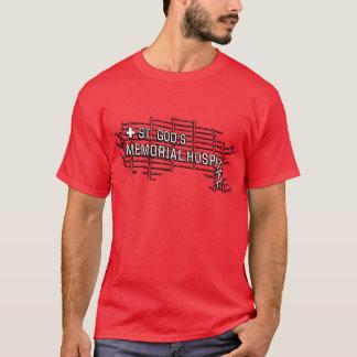 Camiseta St. O hospital memorável do deus