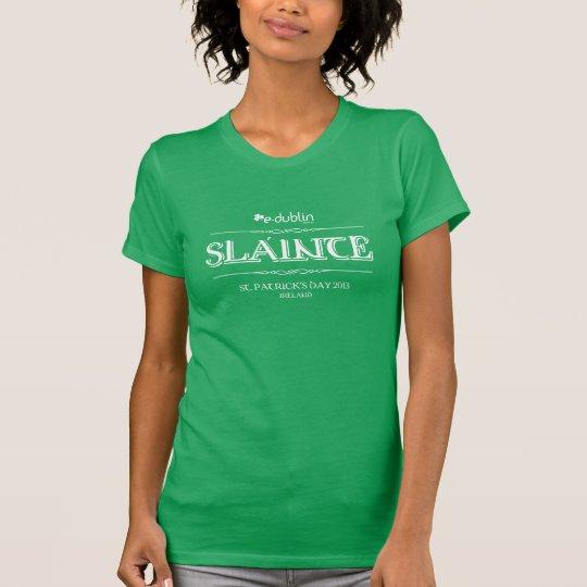 Camiseta St Patrick's Day E-Dublin