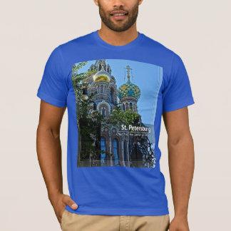 Camiseta St Petersburg, igreja do salvador no sangue