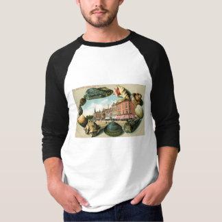 Camiseta St. principal, parque de Asbury, vintage de