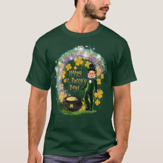 Camiseta St. T-shirt do Leprechaun do dia do rissol