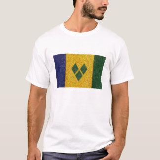 Camiseta St. Vincent & a bandeira dos Grenadines