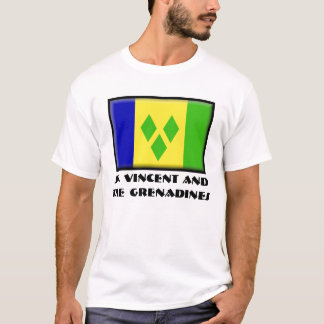 Camiseta St. Vincent e os Grenadines