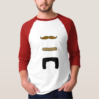 Camiseta 'Stache vertical!
