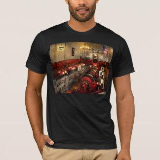 Camiseta Steampunk - a sala de motor 1974