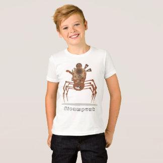 Camiseta steampunk do robô