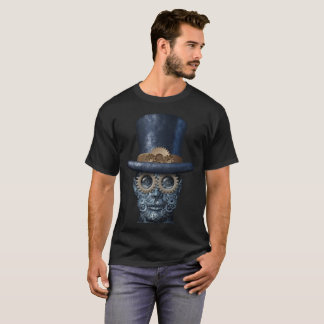 Camiseta Steampunk e punk do vapor