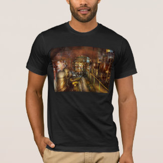 Camiseta Steampunk - pense - tanques