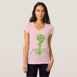 Camiseta Steampunk_Phage em cor viva