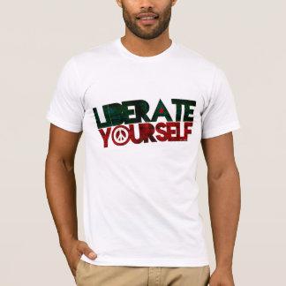 Camiseta StellaRoot libera-se música da paz